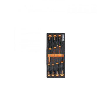 BETA 2450 M221 Habszivacs tálca BetaEasy csavarhúzókkal hasított fejű és Phillips® csavarokhoz