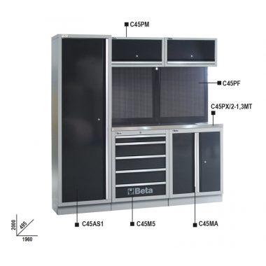 BETA C45/BX  C45 műhelyberendezés összeállítás