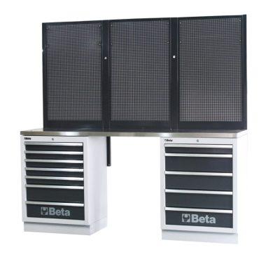 BETA C45/BPX-2,0  Munkapadok C45/BPX-2,0 műhelyberendezés összeállításhoz