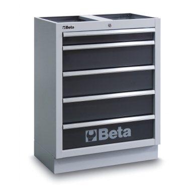 BETA C45M/5  5 fiókos rögzített modul műhelyberendezéshez