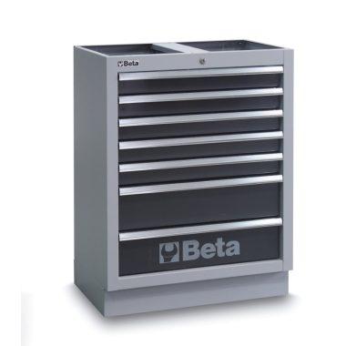 BETA C45M/7  7 fiókos rögzített modul műhelyberendezéshez