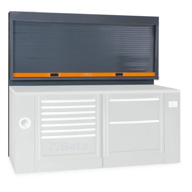 C55PS redőnyös szerszámtartó fal műhelyberendezéshez