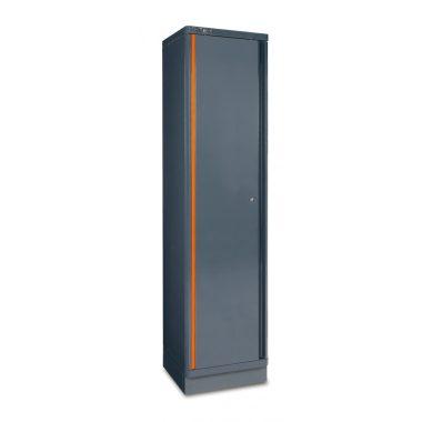 C55A1 1 ajtós lemez szerszám szekrény műhelyberendezéshez összeállításhoz RSC55