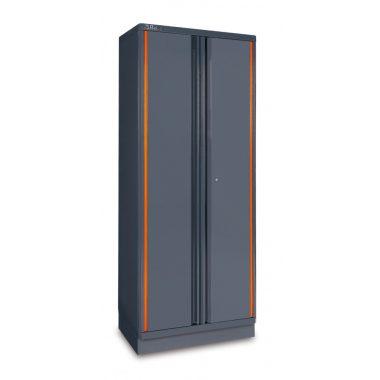 C55A2 2 ajtós lemez szerszám szekrény műhelyberendezéshez összeállításhoz RSC55