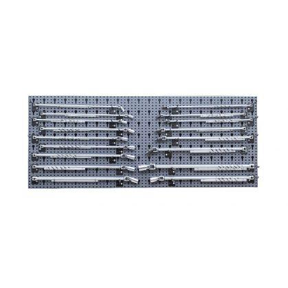 6600 M/61 71 darab szerszám, szerszámtartóval fal nélkül