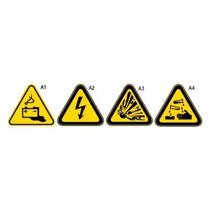 BETA 7109A Alumínium figyelmeztető tábla