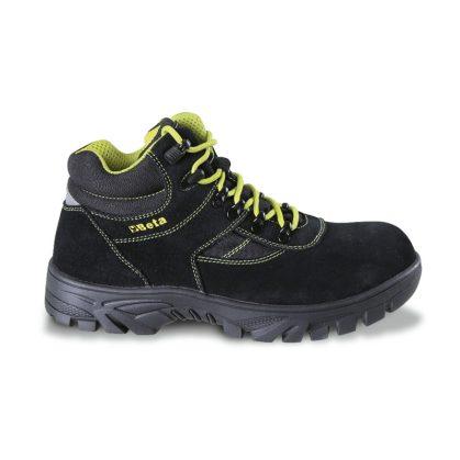 7238WR Hasítottbőr bokacipő nylon betétekkel, nagyellenállású gumitalp és gyorskioldás Vízálló WR cipő