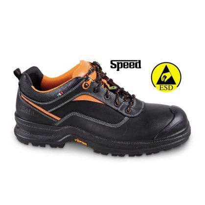 7290NA full-grain bőrcipő, mérsékelten vízálló poliuretán orrvédő erősítéssel és VIBRAM® PU/TPU talppal ESD