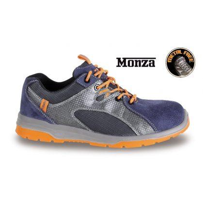 7313B hasítottbőr cipő, nylon mesh és PU betétekkel