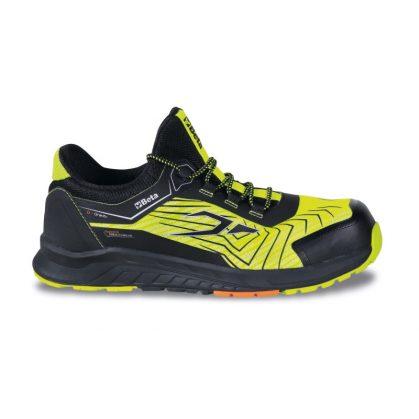 BETA 7353Y Jól szellőző mesh szövet cipő TPU betétekkel Jól látható fényvisszaverő mesh felsőrész