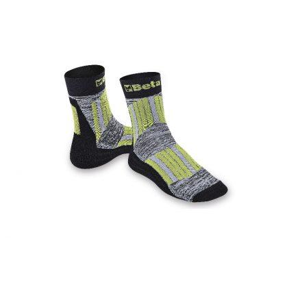 7427 Maxi Sneaker zokni védő és szellőző betétekkel a sípcsont és a rüszt területén