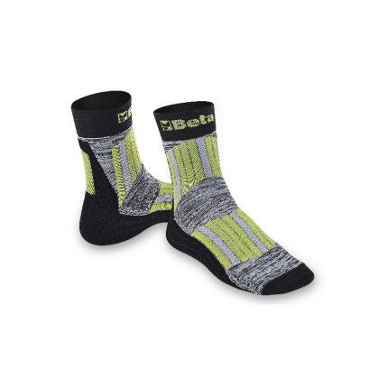 7427 Maxi Sneaker zokni védő és szellőző betétekkel a sípcsont és a rüszt területén L