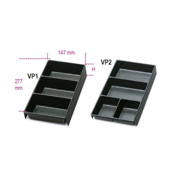 VP1 - VP2 Hőformált műanyag tálcák az összes C22, C23, C23C szerszámládához
