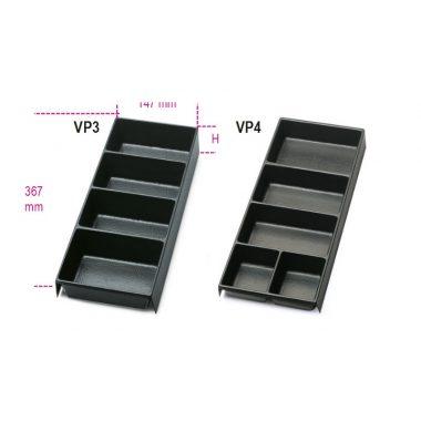 VP3 - VP4 Hőformált műanyag tálcák az összes fiókos, típusú szerszámtárolóhoz