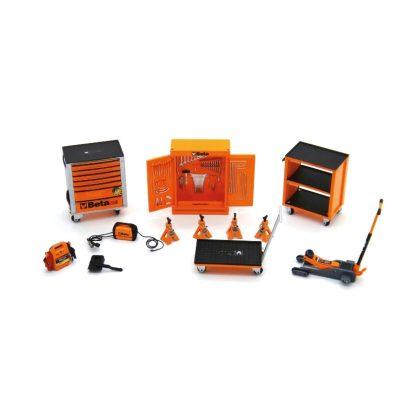 9524SC Miniatűr  műhely/garázs berendezés gyűjtők részére