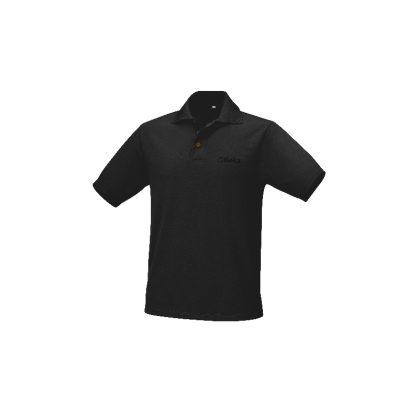 9533N Póló légáteresztő poliészter, 175 g, fekete