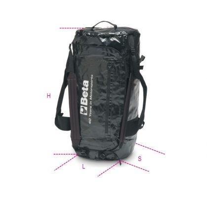 """9557N """"Racing""""-táska laminált PVC, vízálló"""