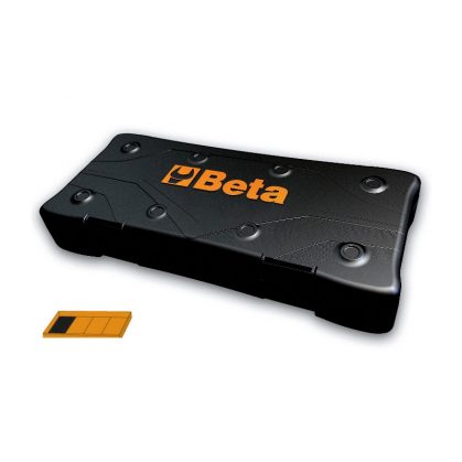 9899C1/4 Üres műanyag doboz 1/4 merev és lágy hőformázott fióktálcákhoz
