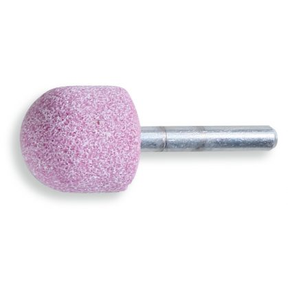 BETA 11125 Csapos dörzskorongok, rózsaszín korundszemcsés, keramikus kötés, kerekített, henger alakú