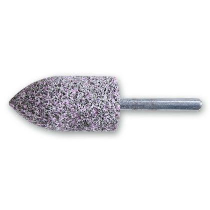 BETA 11145 Csapos dörzskorongok, gyürke/rózsaszín korundszemcsés, keramikus kötés, csúcsíves